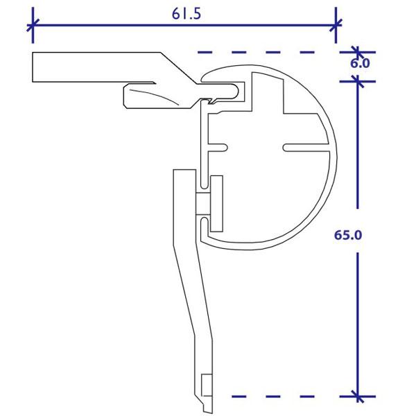 designer rod top fix